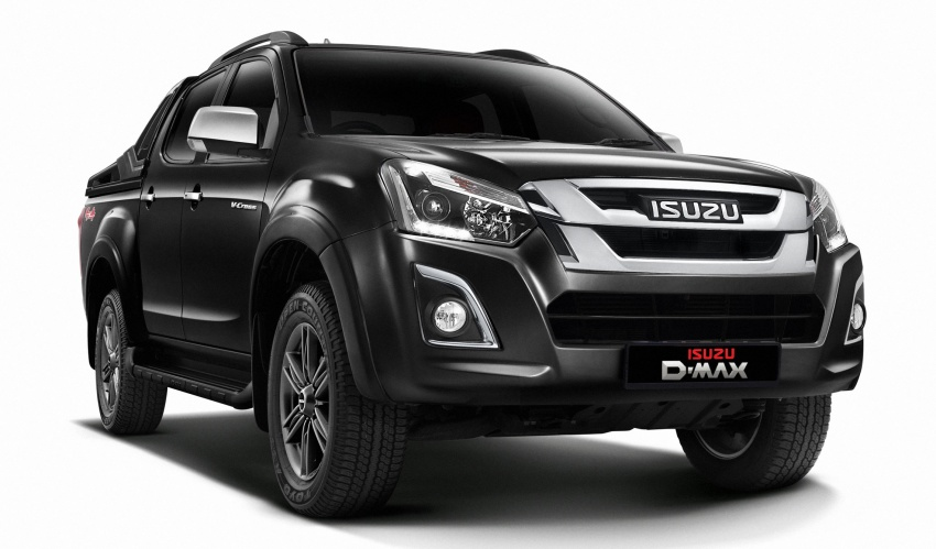 Isuzu D-Max facelift launched in Malaysia – three trim levels available, eight variants; priced from RM80k Image #568731