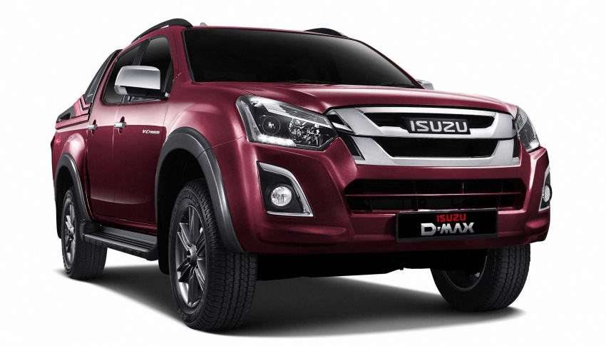Isuzu D-Max facelift launched in Malaysia – three trim levels available, eight variants; priced from RM80k Image #568734