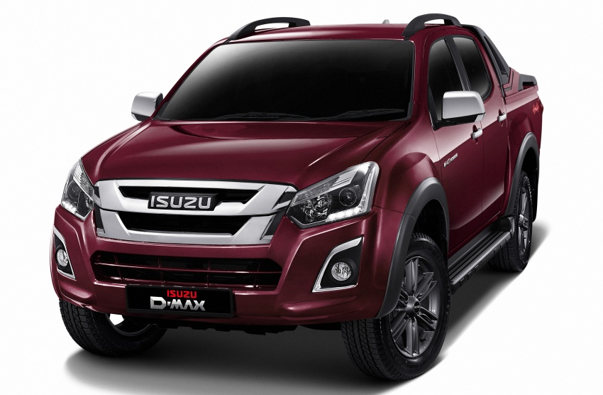 Isuzu D-Max facelift launched in Malaysia – three trim levels available, eight variants; priced from RM80k Image #568736
