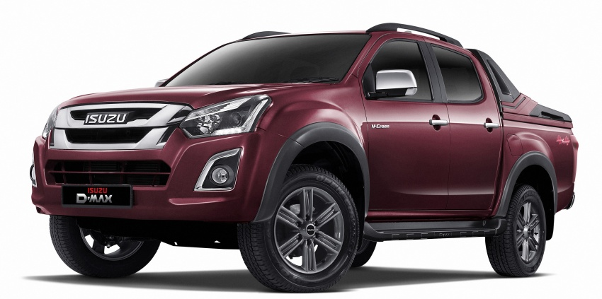 Isuzu D-Max facelift launched in Malaysia – three trim levels available, eight variants; priced from RM80k Image #568737