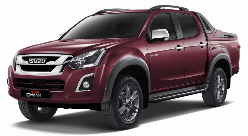 Isuzu D-Max facelift launched in Malaysia – three trim levels available, eight variants; priced from RM80k Image #568738