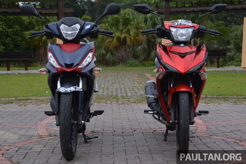 Honda RS150R vs Yamaha Y15ZR – supercub comparo Image #571433