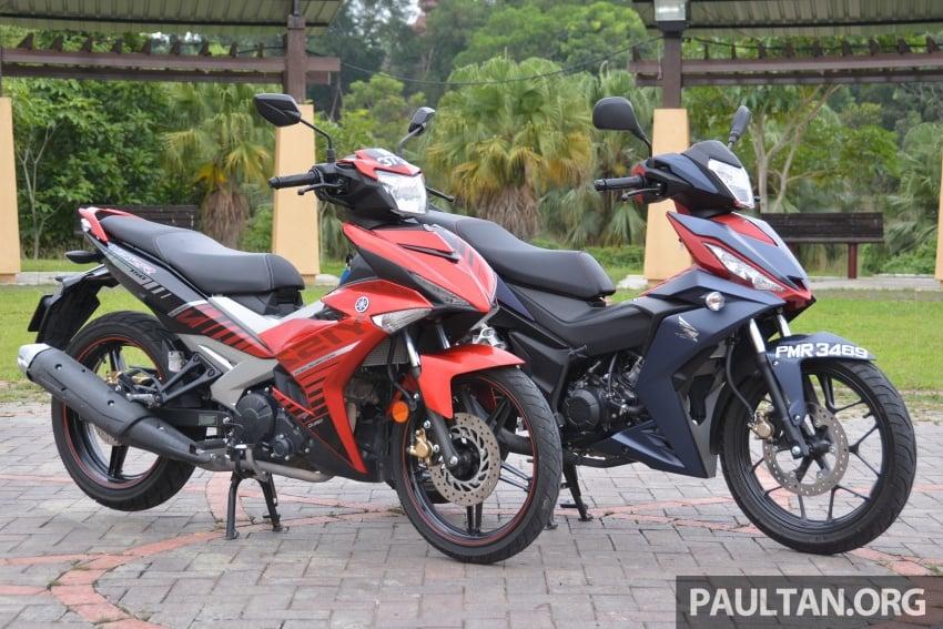 Honda RS150R vs Yamaha Y15ZR – supercub comparo Image #571435