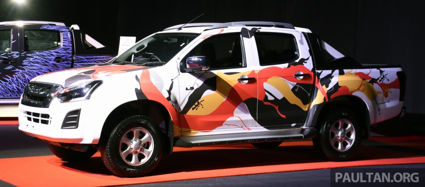 Isuzu D-Max facelift launched in Malaysia – three trim levels available, eight variants; priced from RM80k Image #568769