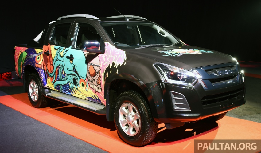Isuzu D-Max facelift launched in Malaysia – three trim levels available, eight variants; priced from RM80k Image #568770