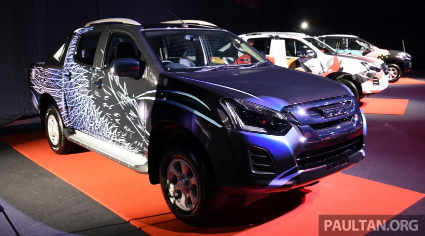 Isuzu D-Max facelift launched in Malaysia – three trim levels available, eight variants; priced from RM80k Image #568773