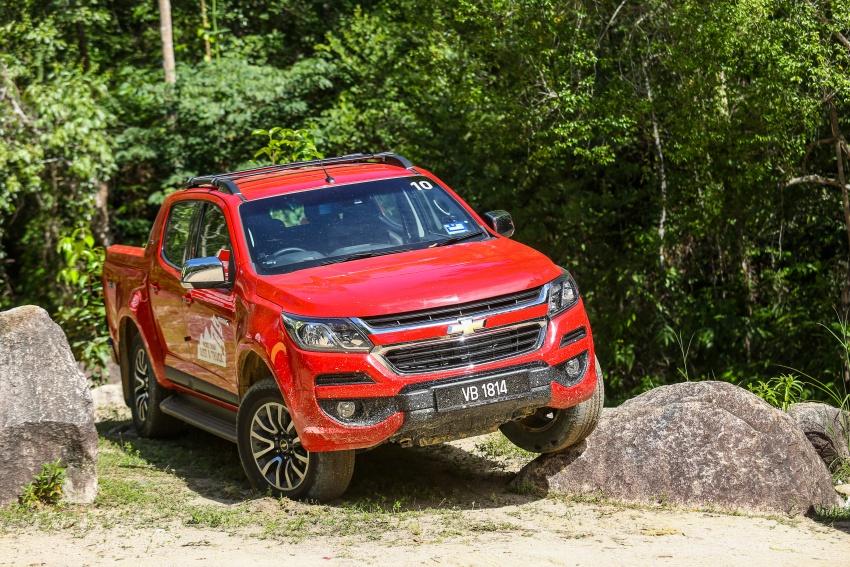 PANDU UJI: Chevrolet Colorado 2.8 High Country facelift – hadir dengan wajah baharu, lebih radikal Image #568275