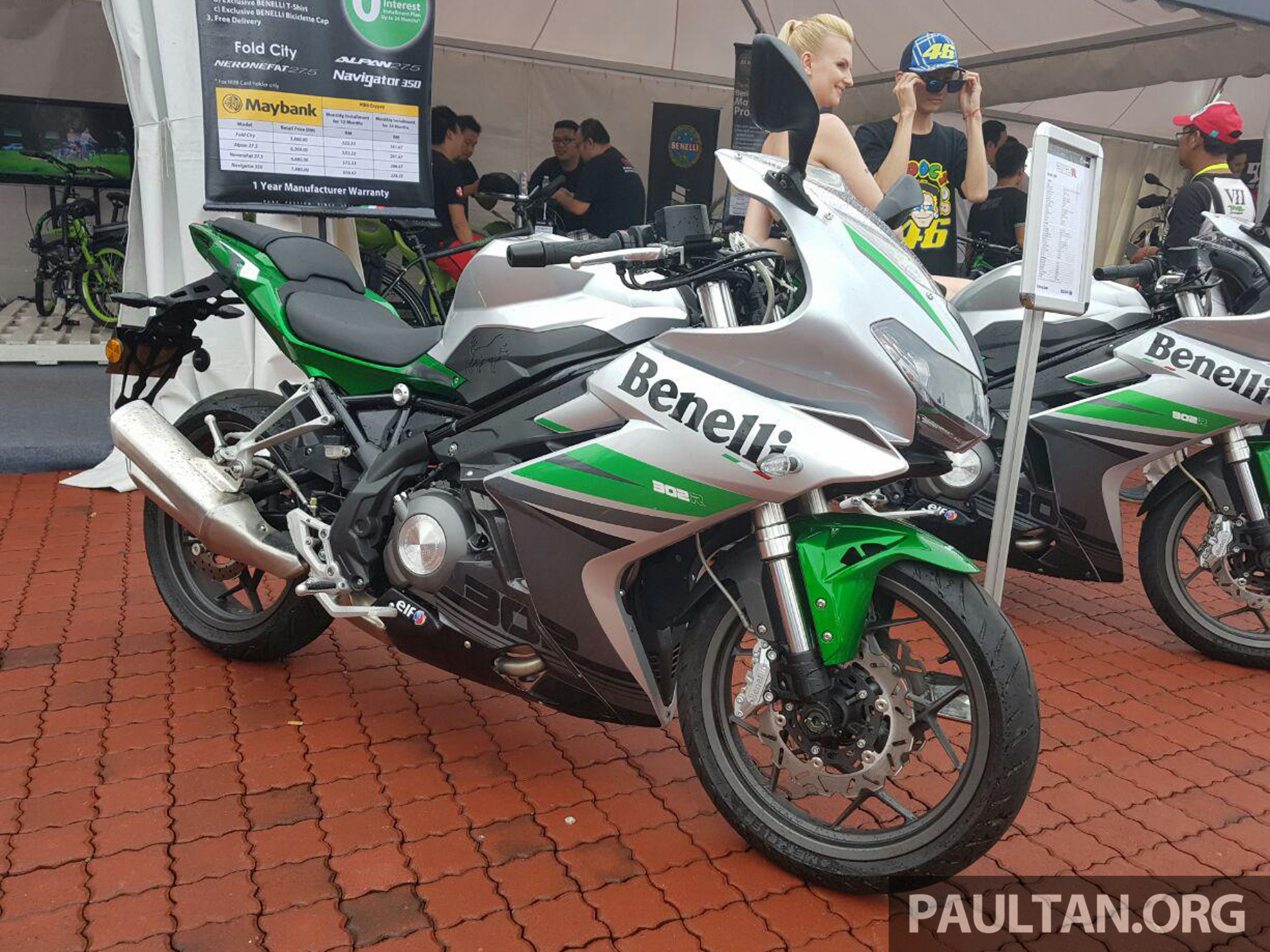 2017 benelli 302r and tnt135 shown at sepang   scheduled