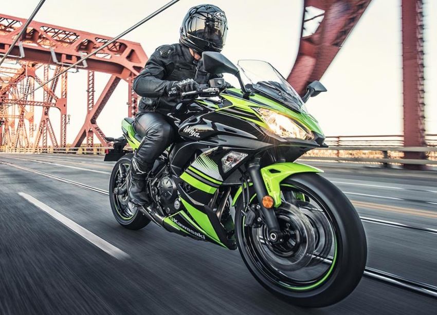 2017 Kawasaki Ninja 650 sportsbike and Z650 naked sports announced – ER-6f and ER-6n replacements Image #559997