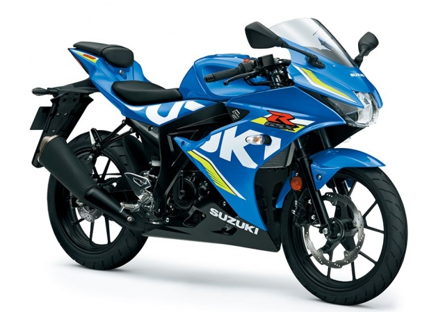 2017 Suzuki Gsx R 125 In Surprise Reveal At Intermot