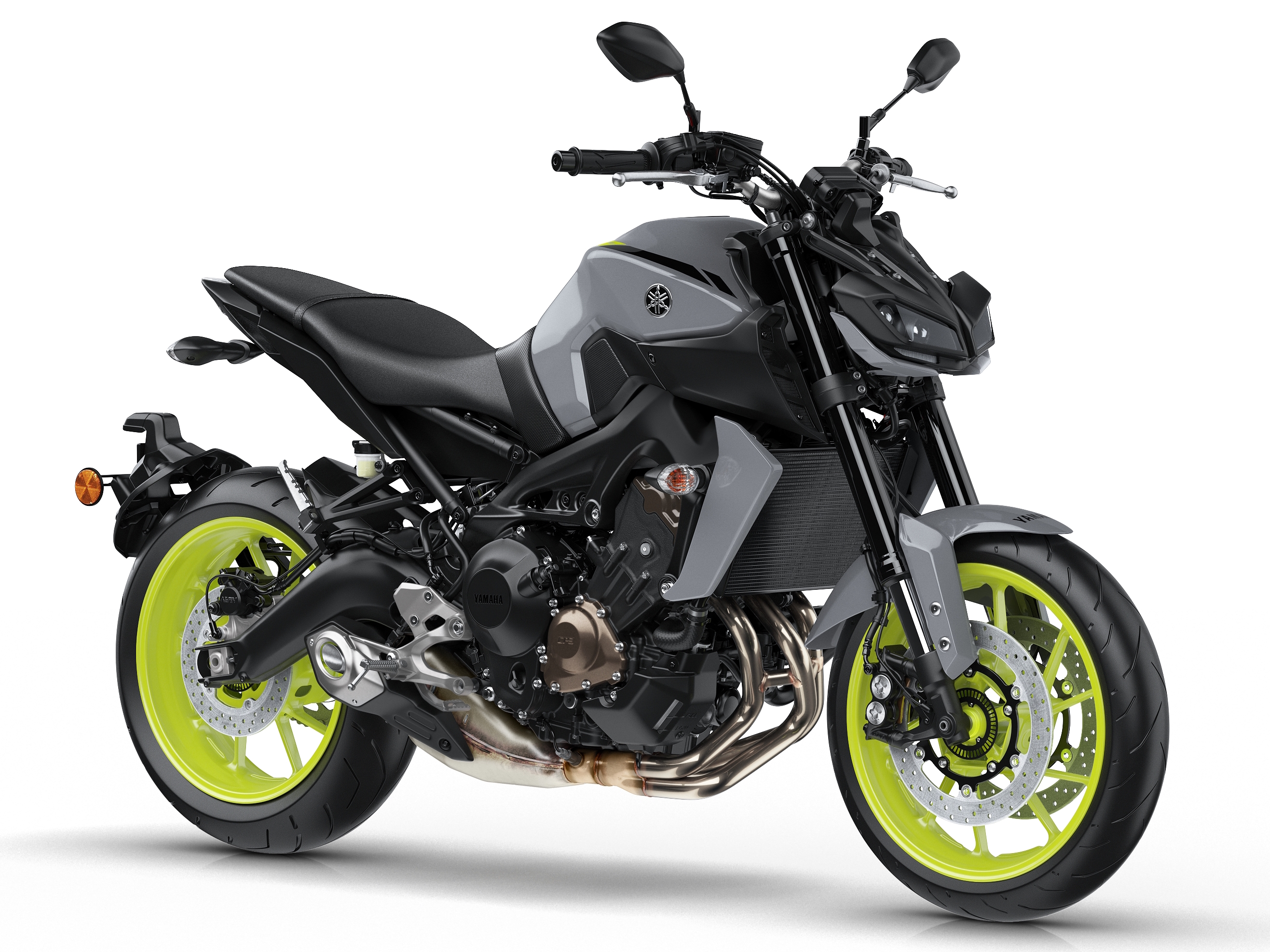 2017 Yamaha MT-09 updated for the new year – now with LED lights ...