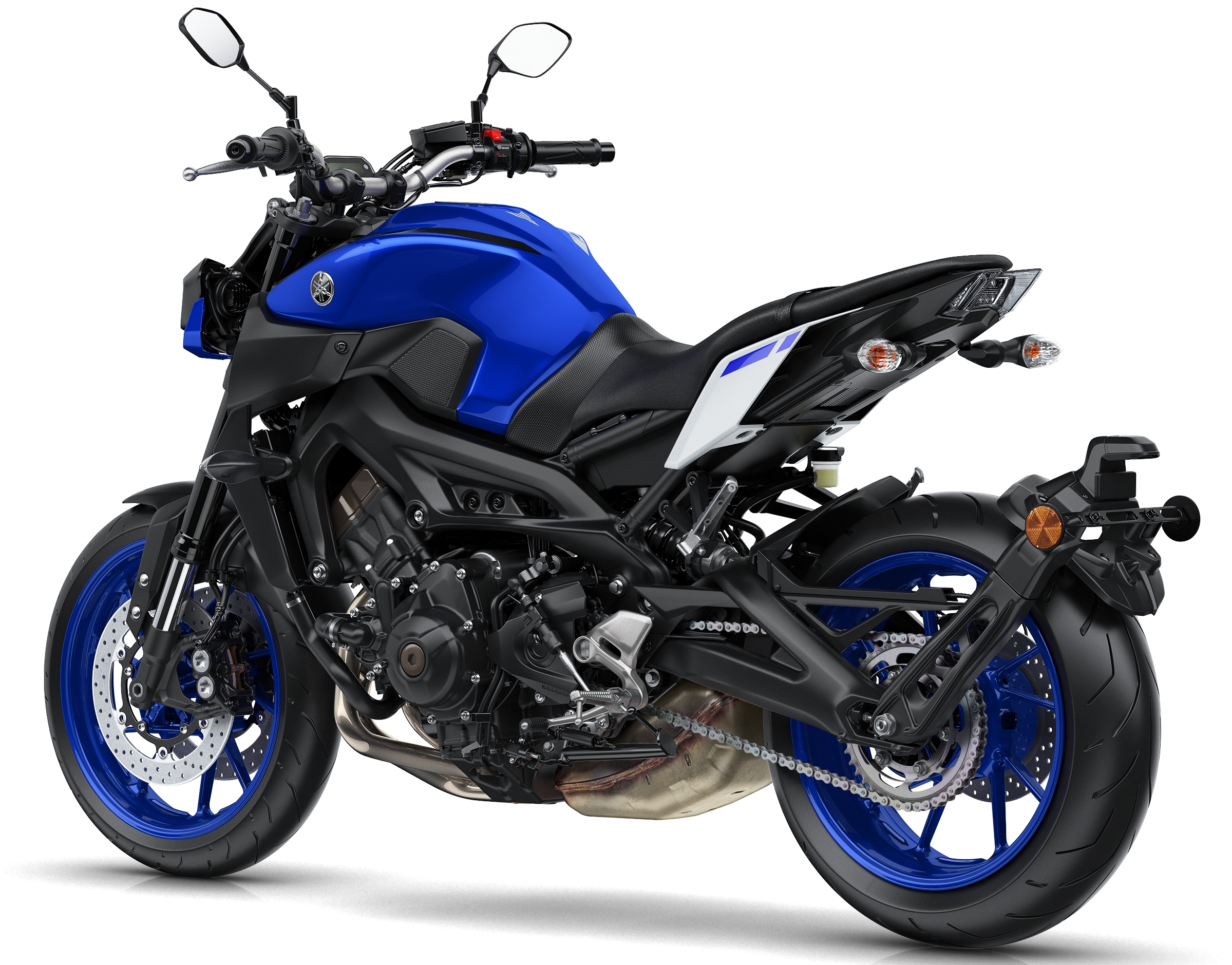 2017 yamaha mt 09 updated for the new year now with led lights quickshifter and upgraded. Black Bedroom Furniture Sets. Home Design Ideas