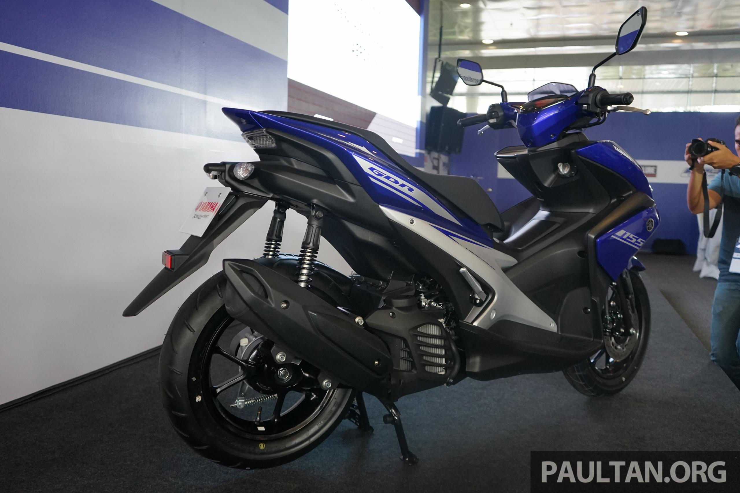 Back to Story: 2017 Yamaha NVX/Aerox ASEAN launch at Sepang