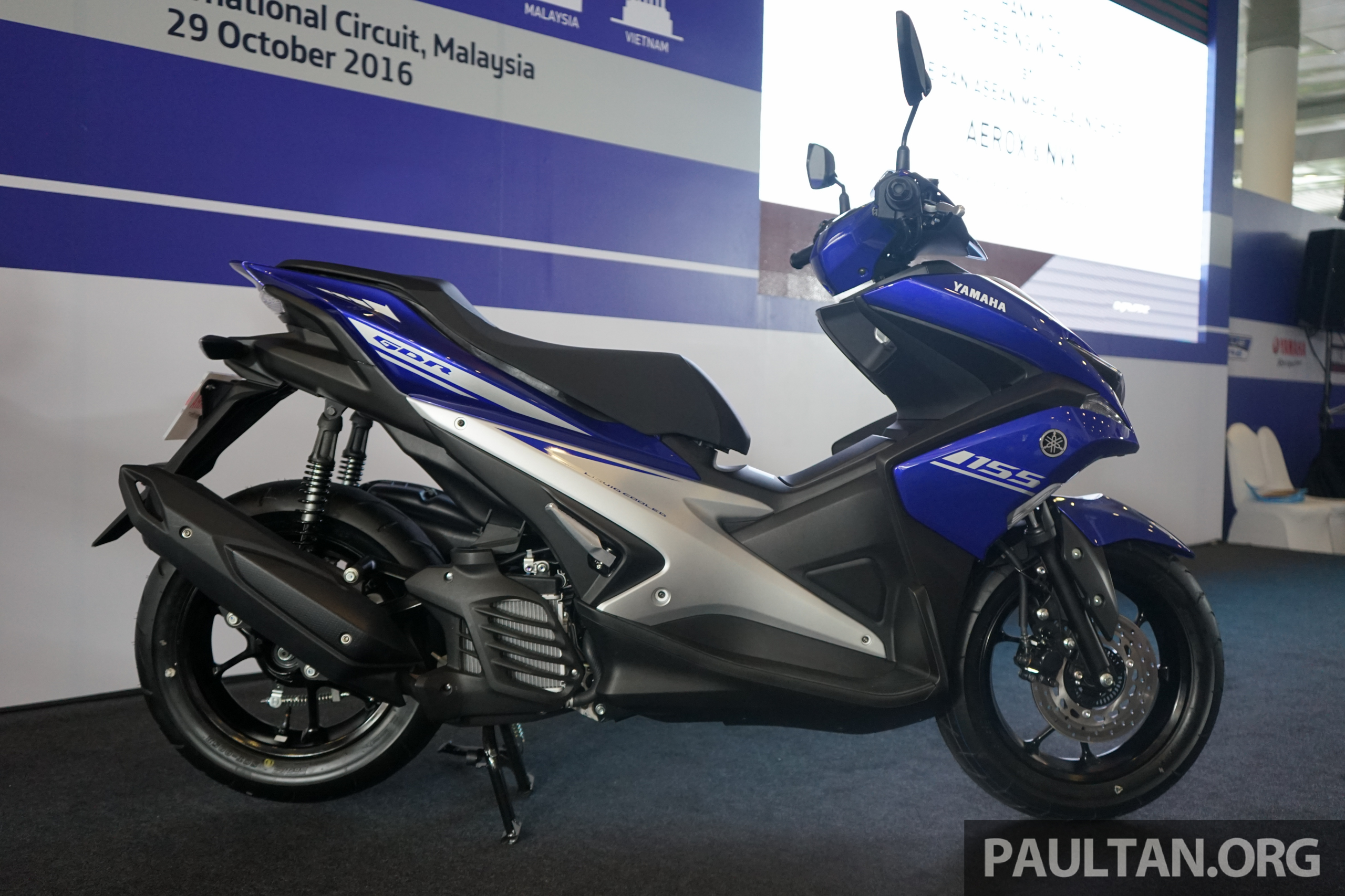 2017 Yamaha NVX Aerox ASEAN Launch At Sepang Paul Tan