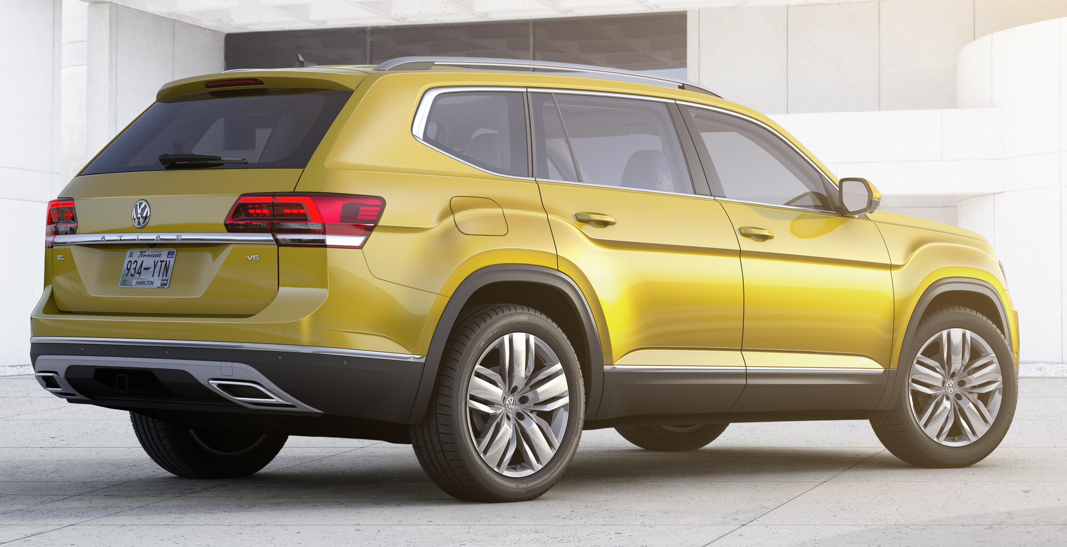 Volkswagen Atlas Mqb Seven Seater Suv Debuts Image 570895