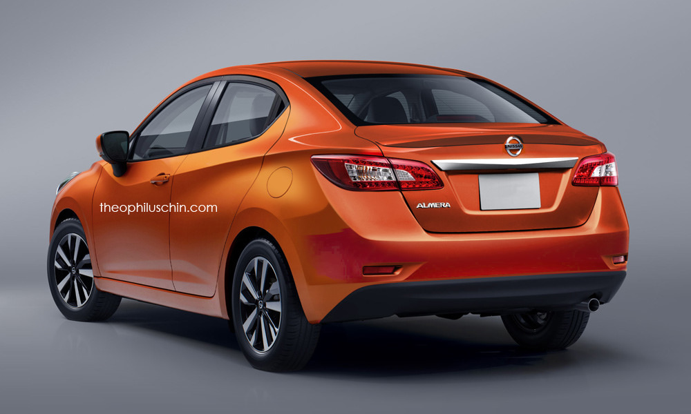 Next Nissan Almera rendered based on new March Image 569207