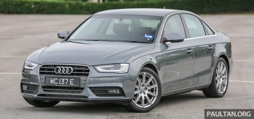 GALLERY: Audi A4 – current B9 vs previous-gen B8 Image #561026