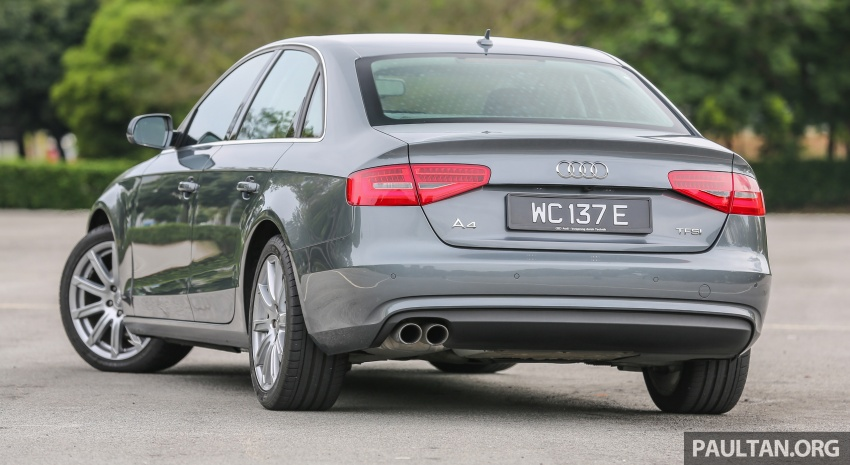 GALLERY: Audi A4 – current B9 vs previous-gen B8 Image #561035