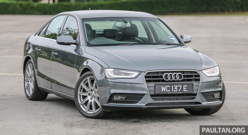 GALLERY: Audi A4 – current B9 vs previous-gen B8 Image #561028