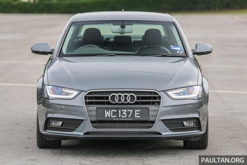 GALLERY: Audi A4 – current B9 vs previous-gen B8 Image #561030