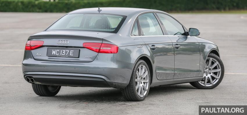 GALLERY: Audi A4 – current B9 vs previous-gen B8 Image #561032