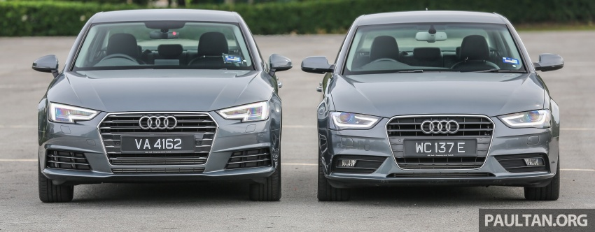 GALLERY: Audi A4 – current B9 vs previous-gen B8 Image #561091