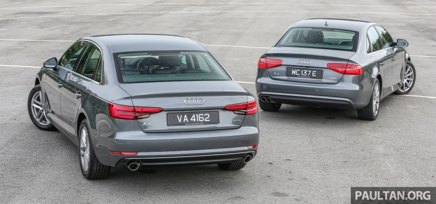 GALLERY: Audi A4 – current B9 vs previous-gen B8 Image #561100