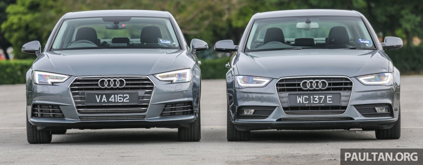GALLERY: Audi A4 – current B9 vs previous-gen B8 Image #561092