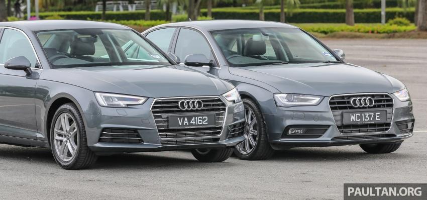 GALLERY: Audi A4 – current B9 vs previous-gen B8 Image #561093