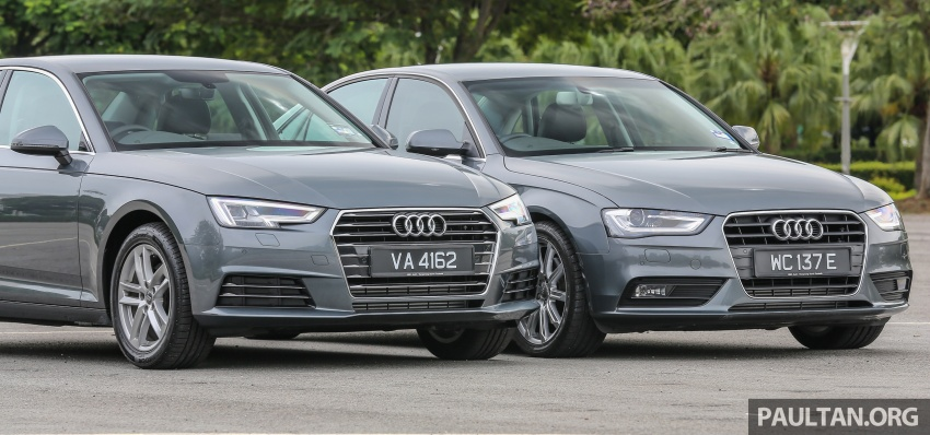 GALLERY: Audi A4 – current B9 vs previous-gen B8 Image #561094