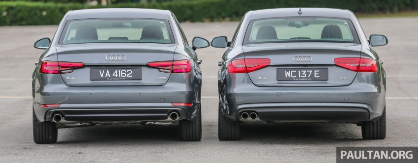 GALLERY: Audi A4 – current B9 vs previous-gen B8 Image #561095