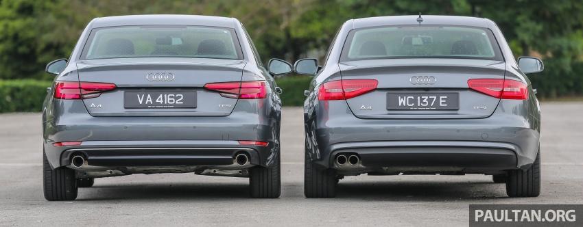 GALLERY: Audi A4 – current B9 vs previous-gen B8 Image #561096