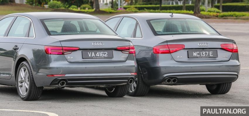GALLERY: Audi A4 – current B9 vs previous-gen B8 Image #561097
