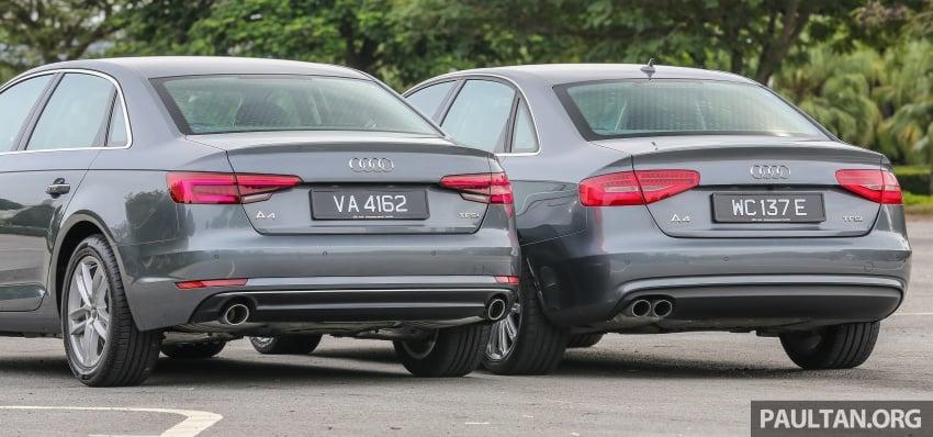 GALLERY: Audi A4 – current B9 vs previous-gen B8 Image #561098