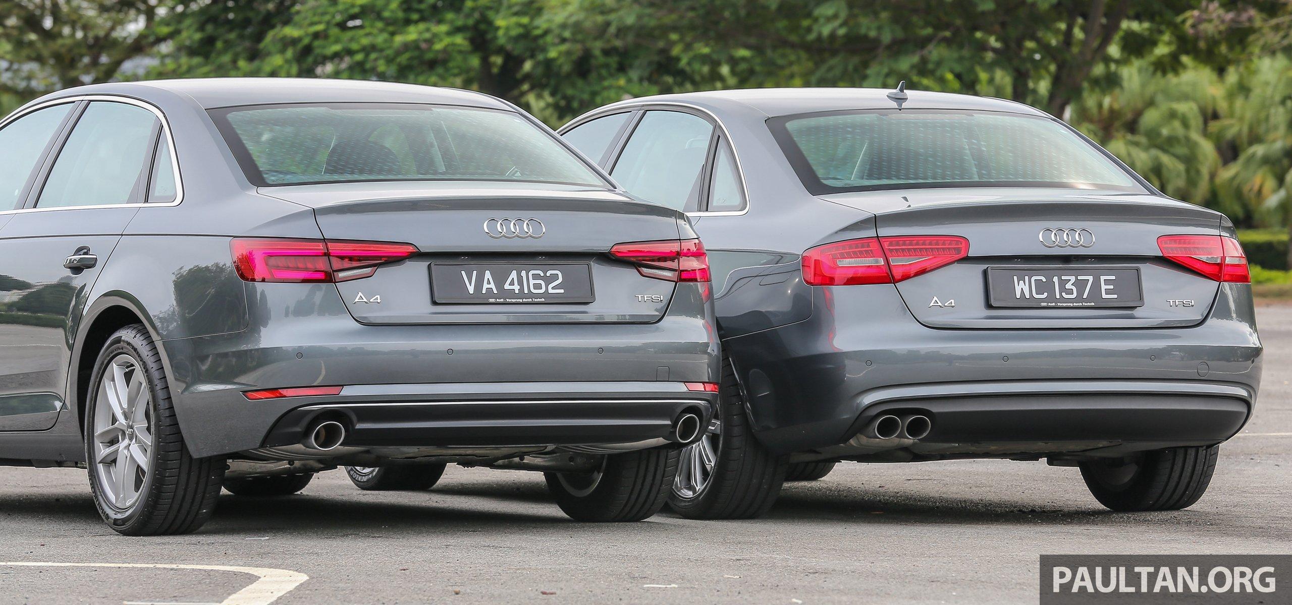 GALLERY: Audi A4 – current B9 vs previous-gen B8 Image 561098