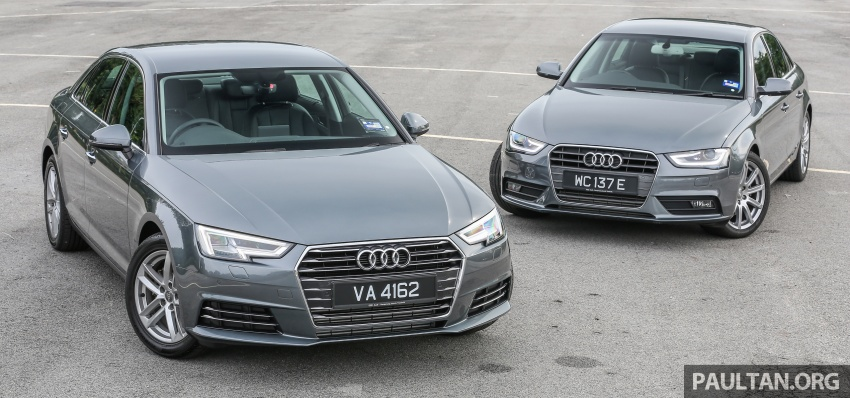 GALLERY: Audi A4 – current B9 vs previous-gen B8 Image #561099