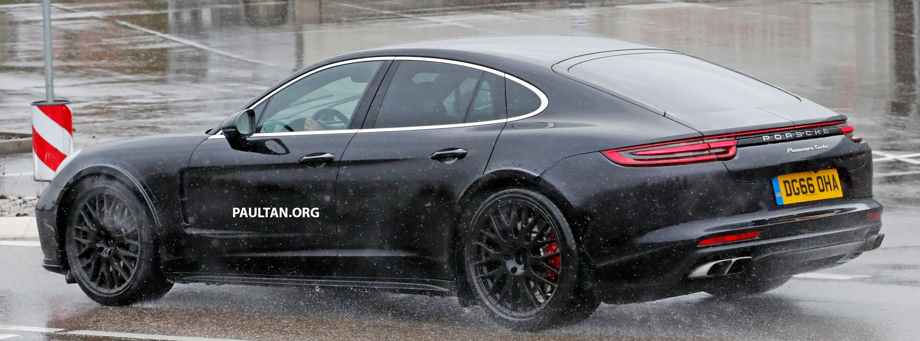 Spied Next Bentley Flying Spur With Panamera Body Paul