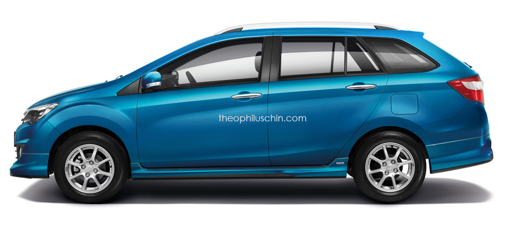 Perodua Bezza Wagon Rendered Cheap Estate Anyone