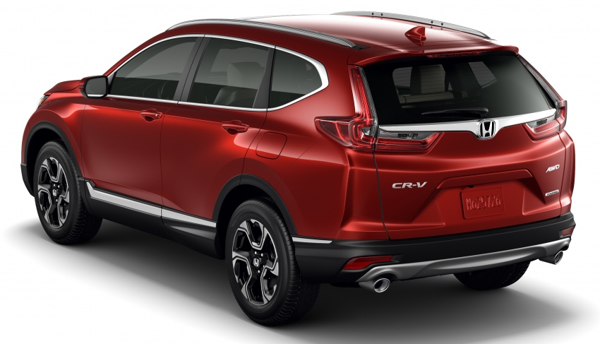 2017 Honda CR-V unveiled – new 190 hp 1.5L turbo engine, premium ...