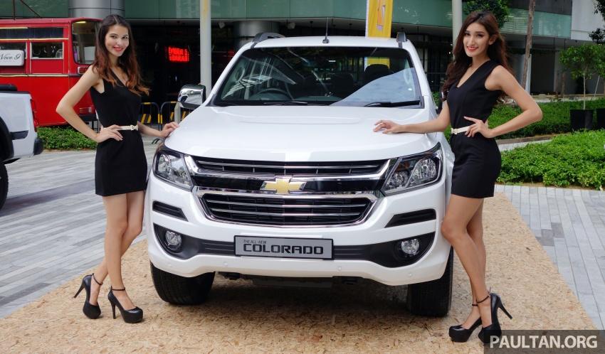 Chevrolet Colorado 'facelift' rasmi dilancarkan di Malaysia; tiga pilihan enjin, harga bermula RM100k Image #566443
