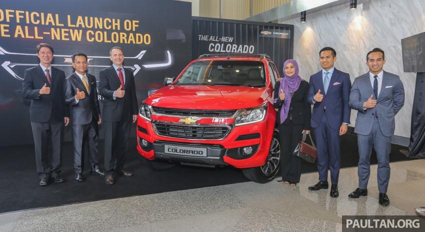 Chevrolet Colorado 'facelift' rasmi dilancarkan di Malaysia; tiga pilihan enjin, harga bermula RM100k Image #566491