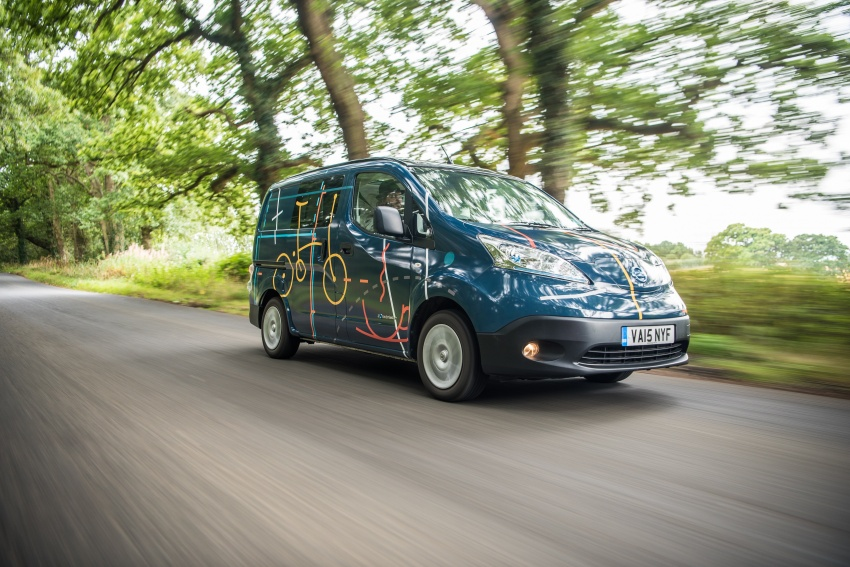 Nissan e-NV200 Workspace – the future of the office? Image #570248