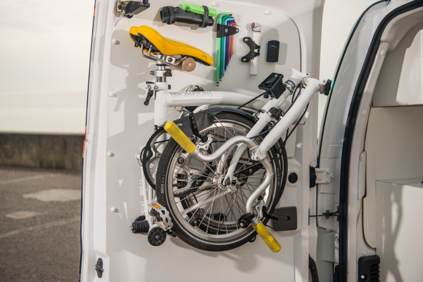 Nissan e-NV200 Workspace – the future of the office? Image #570249