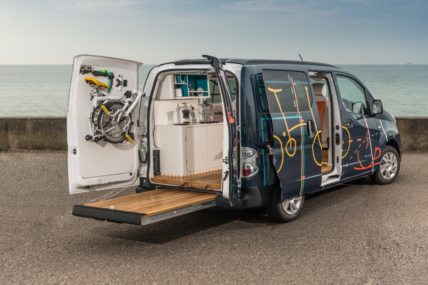 Nissan e-NV200 Workspace – the future of the office? Image #570253