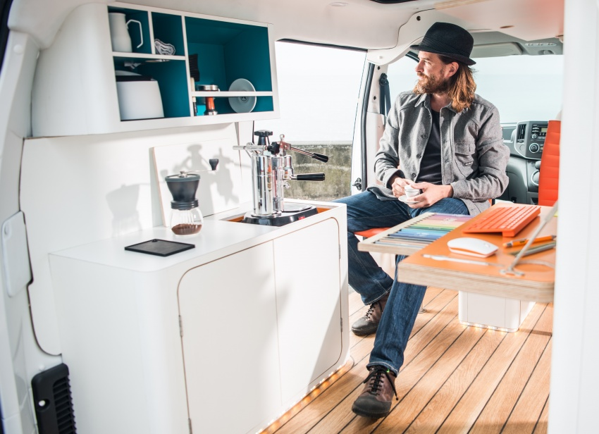 Nissan e-NV200 Workspace – the future of the office? Image #570259