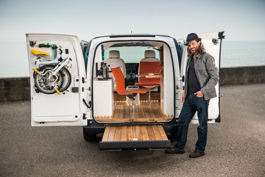 Nissan e-NV200 Workspace – the future of the office? Image #570269