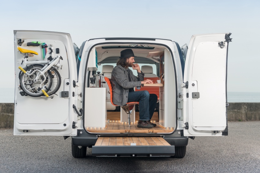Nissan e-NV200 Workspace – the future of the office? Image #570270