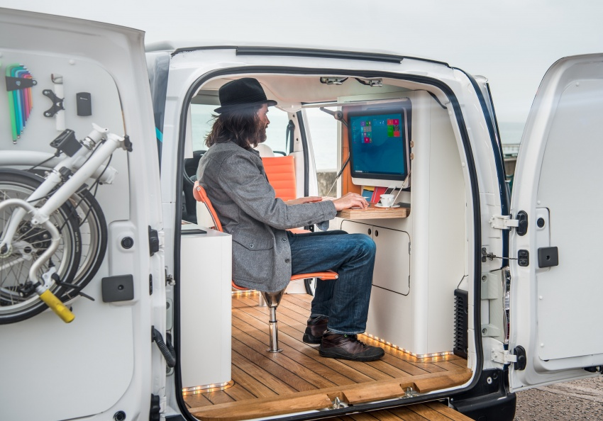 Nissan e-NV200 Workspace – the future of the office? Image #570271
