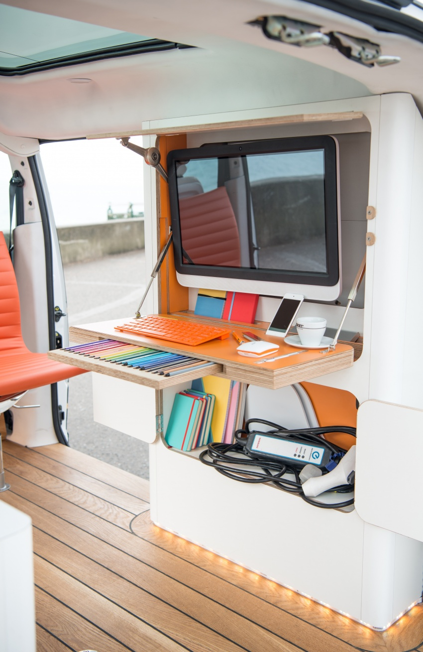 Nissan e-NV200 Workspace – the future of the office? Image #570276