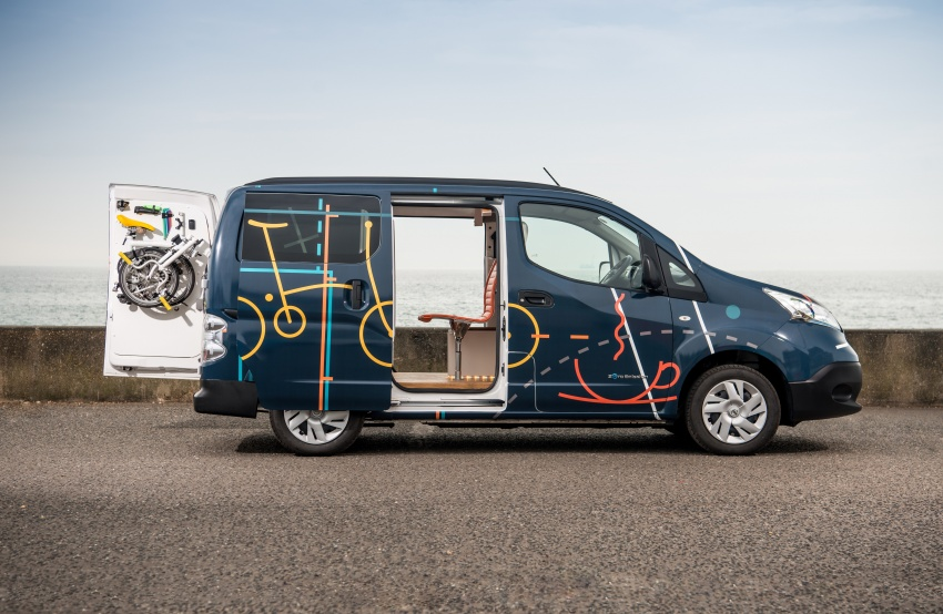 Nissan e-NV200 Workspace – the future of the office? Image #570279
